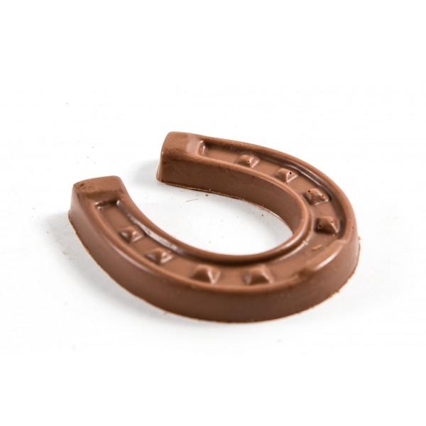 Chocolate Horse shoe wedding favour