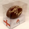 chocolate rugby ball