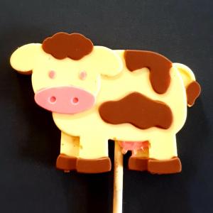Dotty Cow lollipop